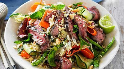 "More grilling for a muti-cultural Australian Day with our&nbsp;<a href=""http://kitchen.nine.com.au/2016/05/05/09/57/vietnamese-grilled-beef-salad"" target=""_top"">Vietnamese grilled beef salad</a>&nbsp;recipe"