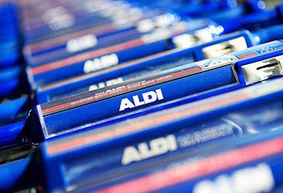 Aldi supermarket trolleys (Getty)