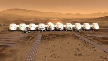 The Aussie husband and father registered for a one-way trip to Mars