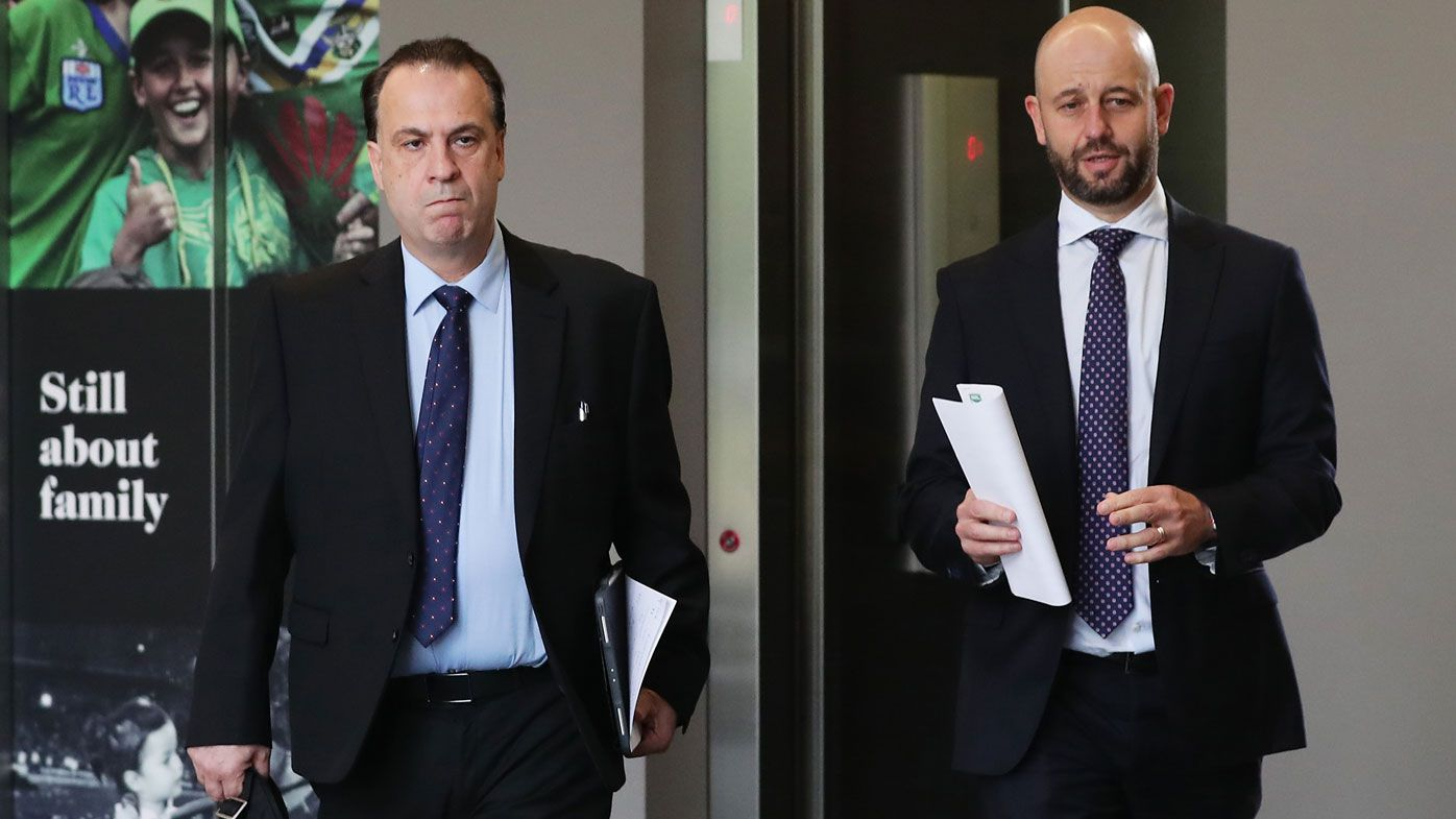 It was time for Todd Greenberg to go as NRL chief executive, Greg Alexander says