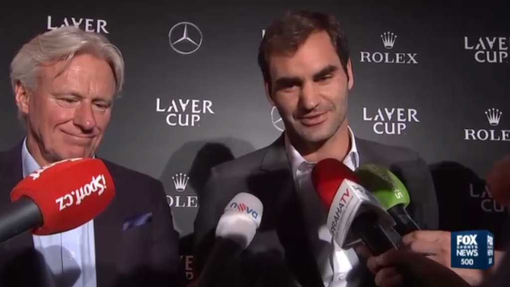 Federer and Nadal team up for Laver Cup