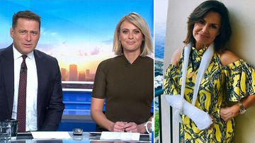 TODAY Show hosts wish injured Lisa Wilkinson well