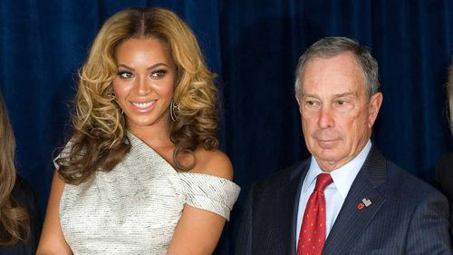 Michael Bloomberg (right) will not run for President.