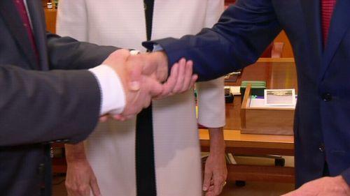 Mr Joyce will be sworn in as Deputy Prime Minister tonight. (9NEWS)