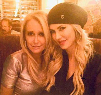 Reality TV stars Brandi Glanville and Kim Richards.