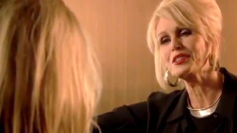 Patsy Stone tries to convince Kate Moss she's 39 in new Absolutely Fabulous clip