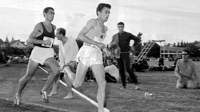 At the 1968 Olympics in Mexico City, Ron Clarke famously collapsed and nearly died from altitude sickness during the 10,000m final.