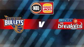 Round 18: Brisbane Bullets v New Zealand Breakers
