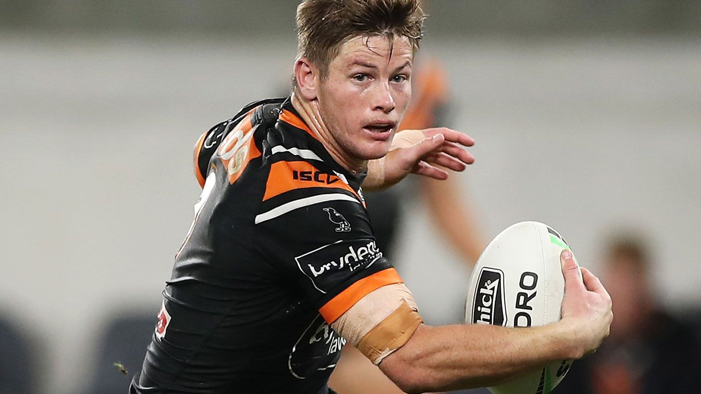 Harry Grant wins RLPA's Rookie of the Year award after Wests Tigers starring role