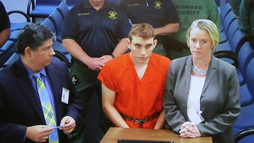 School shooter Nikolas Cruz faces charges.