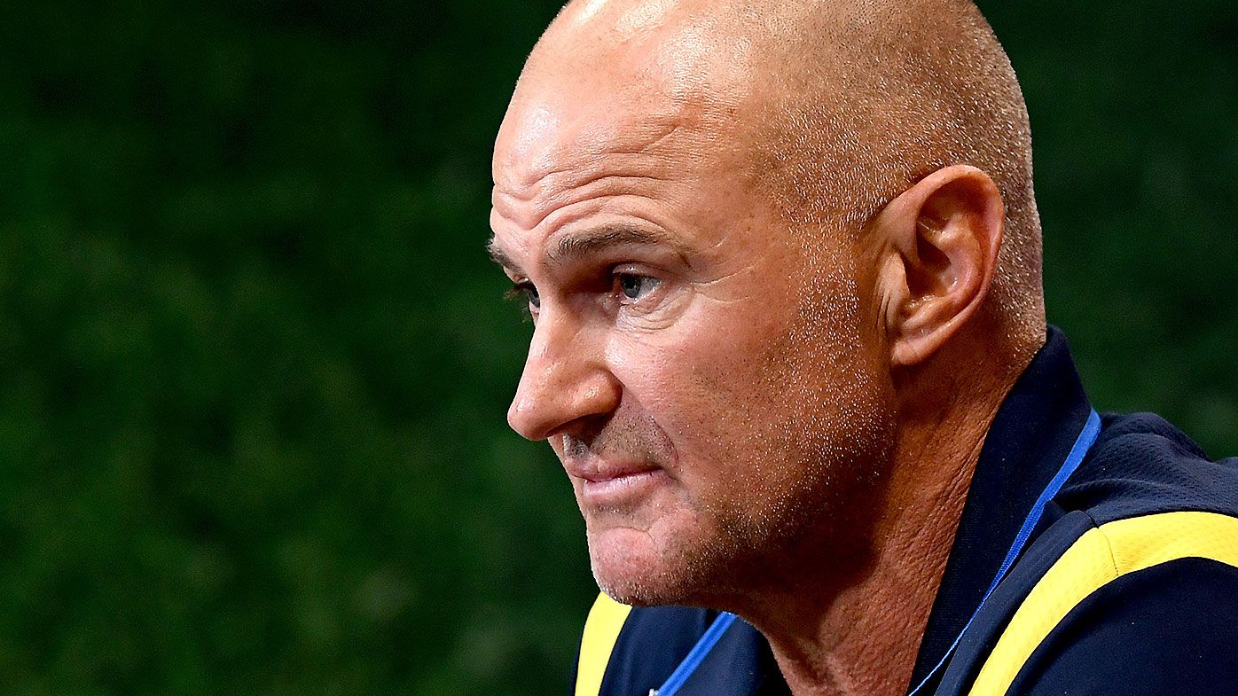 Brad Arthur 'annoyed' by lack of Parramatta respect towards Broncos in first half