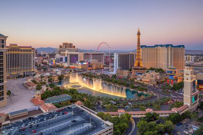 6. Experience the madness of the Las Vegas Strip