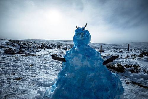 The cold fronts are expected to continue through the weekend, meaning more snow could be on the way. Picture: Getty.