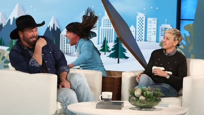 Ellen DeGeneres' prank on country music star Garth Brooks spectacularly backfires