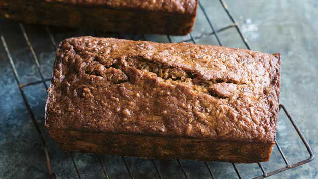 Banana and apple bread