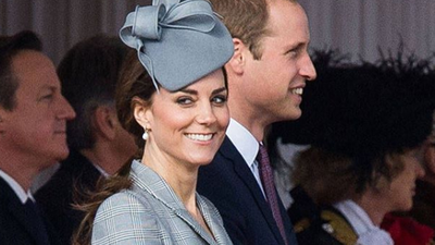 Kate Middleton carries a lunchbox