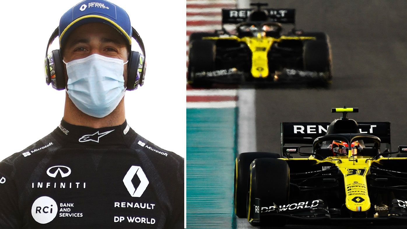 Daniel Ricciardo farewells Renault Racing. (Getty)