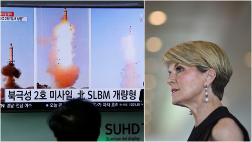 Julie Bishop proposes new sanctions against 'dangerous' North Korea