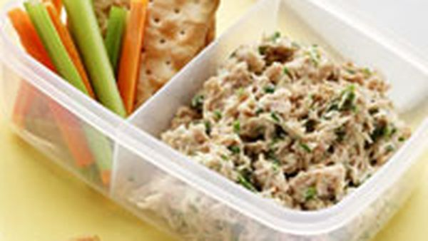 Tuna and lemon dip