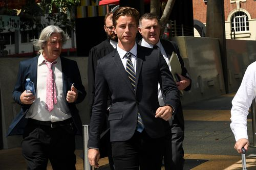 Jack Scott Turner Winship was one of two men found guilty of the West End rape in 2011. Picture: AAP