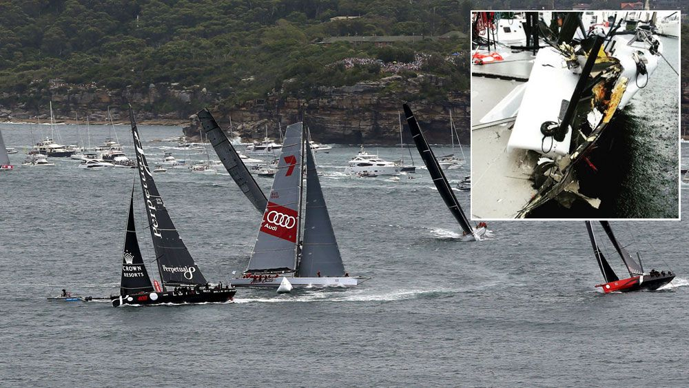 Wild Oats, Comanche out of Sydney-Hobart
