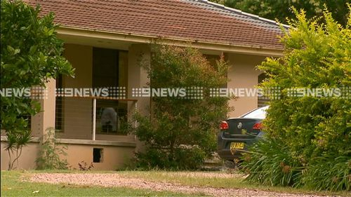Two detectives have visited the home of Bill Spedding this morning. (9NEWS)