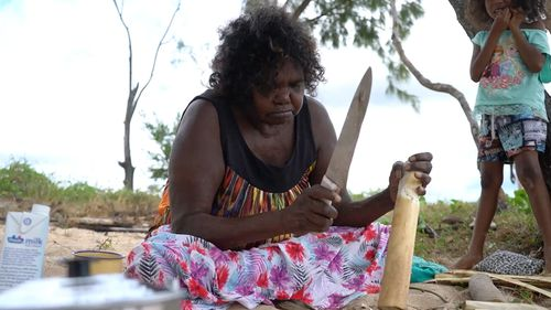 There are now more fake Aboriginal souvenirs being sold in Australia than the real thing. Picture: 60 Minutes