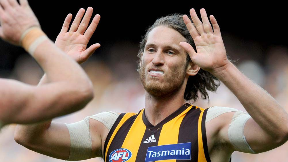 Hawthorn player Tyrone Vickery has been arrested