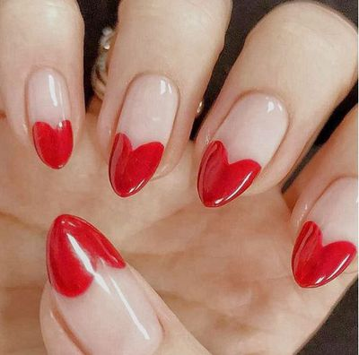 <p>Forget silk lingerie or head-to-toe red, the only way to make a splash this Valentine's Day is by upping your nail game.</p> <p>Embracing a new look for your fingertips not only gives you something nice to look at throughout your romantic date (heck – who doesn't need that?), it's also a great way to update your total look and better yet, it requires minimal effort.</p> <p>From minimalistic nail art designs with the tiniest hearts, to mismatched lips with your lover's initials, we've got your Valentine's Day nails covered.</p> <p>Click through to find a look that's perfect for you.</p>