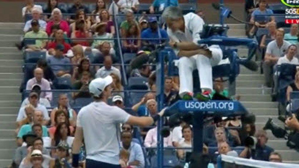 Murray out, Wawrinka reaches US Open semis