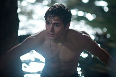 When he emerged from the water shirtless in <i>Charlie St. Cloud</i>...<br/><br/>(Image: Universal Pictures)