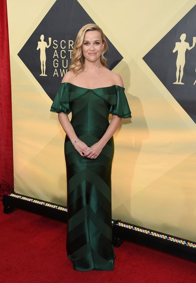 Actress Reese Witherspoon at the 2018 SAG Awards