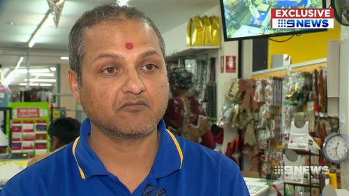 Virendra Patel is considering closing his business because of safety fears.