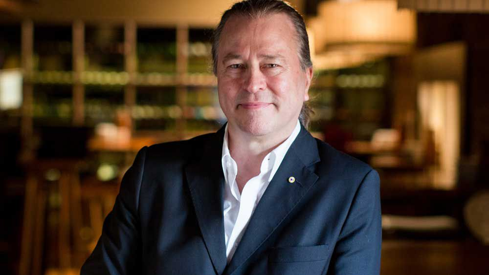 Chef and restaurateur Neil Perry of Rockpool Dining Group