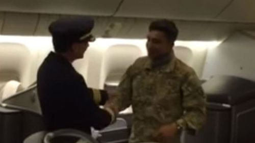 """Captain Mario Lopes said it was the most """"memorable flight"""" in his 27 years as a pilot. (Youtube/Mario J. Lopes)"""