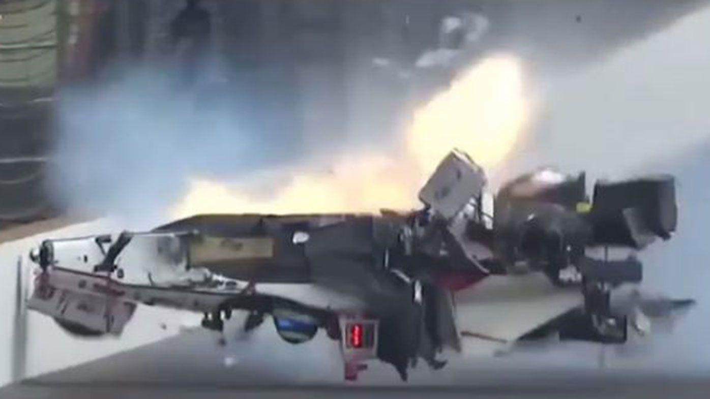 Sebastien Bourdais has undergone surgery after a massive crash at the Indy500.