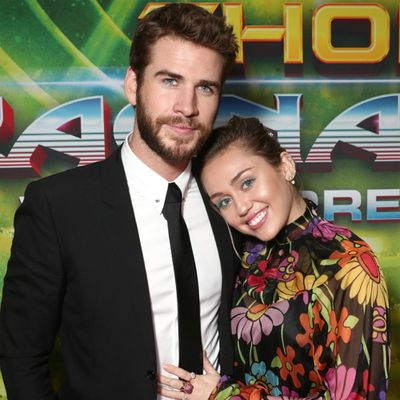 Miley Cyrus shares new pictures from Liam Hemsworth wedding