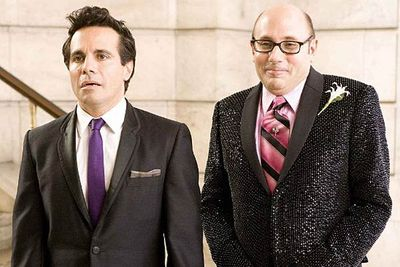 The gals on <I>Sex and the City</I> have often been described as gay men in women's bodies, but there were some actual homosexuals on the series. Foremost among them were Stanford Blatch (Willie Garson) and Anthony Marentino (Mario Cantone). They hated each other in the TV series, but hooked up in the first movie and married in the sequel.