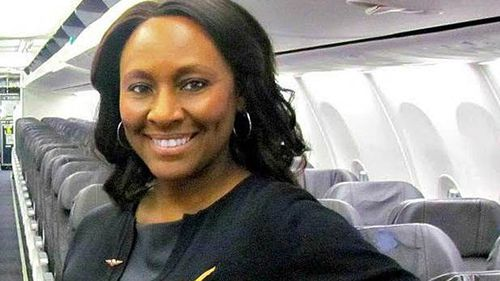 A quick-thinking flight attendant in the US rescued a victim of child trafficking she identified on a flight from Seattle to San Francisco.