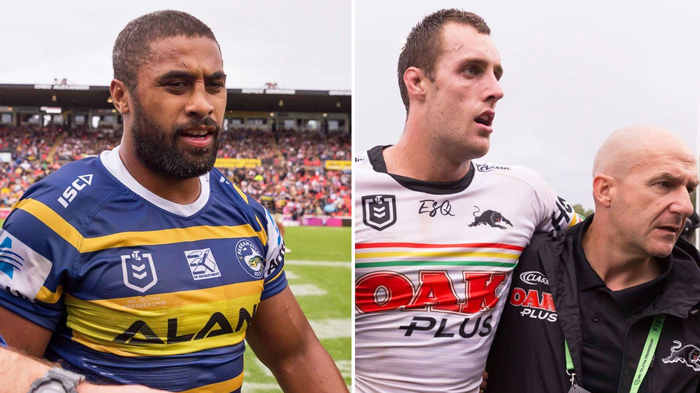 Michael Jennings suspended by NRL judiciary after high tackle on Isaah Yeo