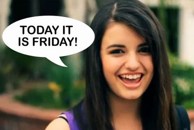"Rebecca Black is living proof that these days anyone can get famous for doing pretty much anything. The 13-year-old's parents paid $5000 for their daughter to star in 'Friday' a crappy video clip that went viral on youtube after the teen was dubbed 'The worst singer in the world'. The poor kid had to go into hiding because of death threats and bullying, but that didn't stop her from releasing a second (crap, but not as hilariously so) video single later in the year. <br/><br/><a href=""http://thefix.ninemsn.com.au/2011yearinreview/"">TheFIX: 2011 year in review</a>"