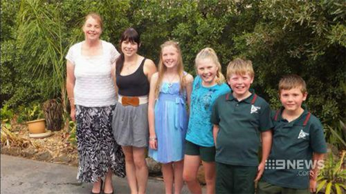 The mother-of-five's iPad and laptop were taken, but her medication was not. (9NEWS)