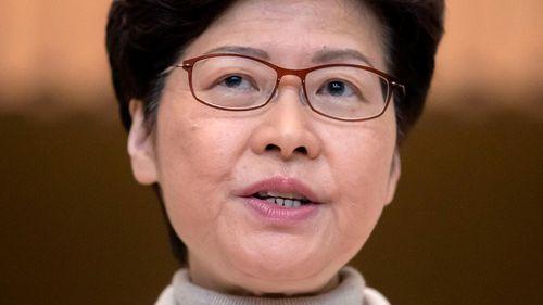 Hong Kong's Chief Executive Carrie Lam.
