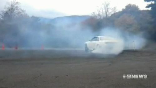 Mr Westwood was in Japan for a drifting competition.