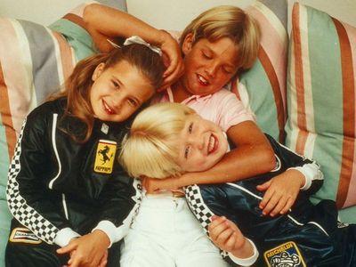 Ivanka, Donald Jr. and Eric Trump as children