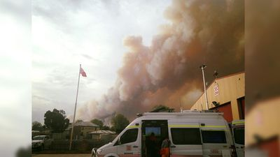 The Golden Square Fire Brigade shared this image of the region on Tuesday. (Facebook)