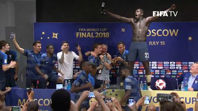 France rejoice after World Cup final victory over Croatia