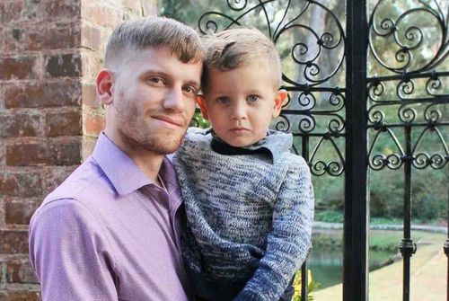 Ryan Rabon and his missing son, Beau. (GoFundMe)