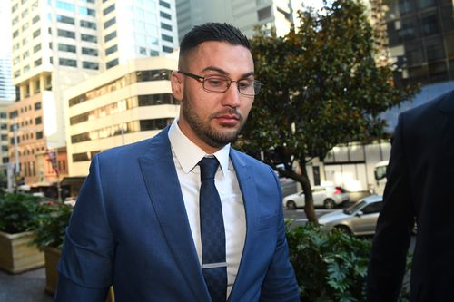Controversial former Auburn deputy mayor will serve at least 11 months in jail after being found guilty of rigging a 2012 local council election. Picture: AAP.