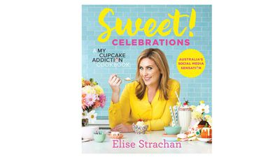 "<a href=""https://www.murdochbooks.com.au/browse/books/baking/Sweet-Celebrations-Elise-Strachan-9781743369197"" target=""_top"">Sweet! Celebrations - A My Cupcake Addiction cookbook</a><br> By Elise Strachan<br> Murdoch Books, $39.99"